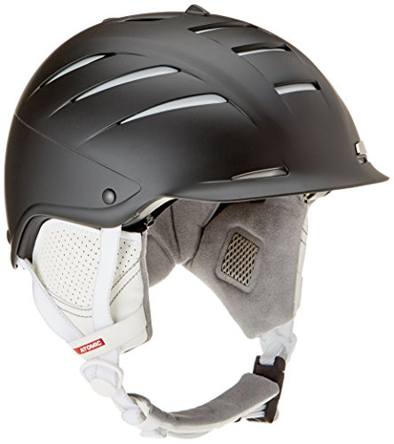 Atomic 2016/17 Women's Affinity LF All Mountain Ski Helmet (Black - S) (Atomic Ski Helmets)