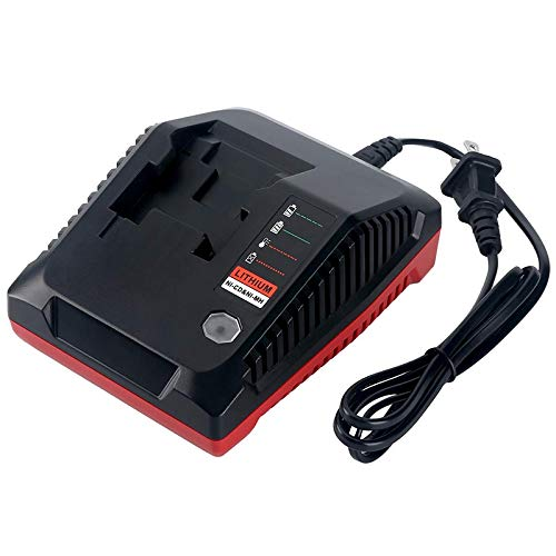 TOOGOO Multi-Chemistry Slide Battery Pack Charger Pcxmvc for Cordless Power Tool 18V Lithium Ion and Nicad Nimh Battery Pc18B Pc18Bl Pc18Blx(Us - Charger Nimh Battery Canada