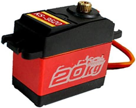dailymall RCカー交換アクセサリー RCカーサーボ デジタルサーボ 防水 20KG 取り付け簡単 耐久性