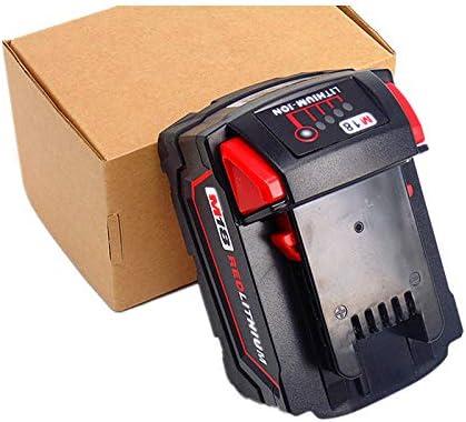 FengBP/®️Remplacer les chargeurs pour batterie Li-Ion Milwaukee M18 M12 18V 220V 48-59-1812 48-59-1807 48-59-1806 48-59-1840 2710-20 48-11-1828 48-11-1840 Rouge