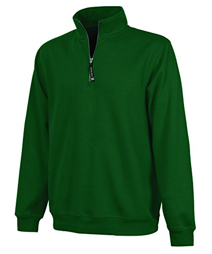 (Charles River Apparel Ultra Soft and Cozy Women's Crosswind Pullover Sweatshirt - Forest Green, Small)