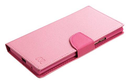 Asmyna Carrying Case for ZTE-N9518 (Warp Elite) - Retail Packaging - Pink Pattern/Hot Pink - Pattern Elite