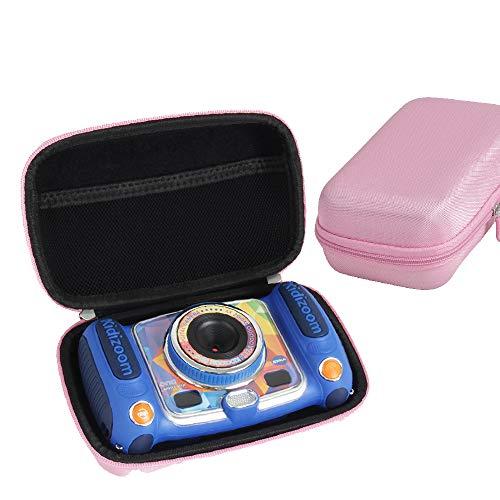 Hermitshell Hard EVA Storage Case fits VTech Kidizoom Duo/Twist Selfie Camera (Pink)