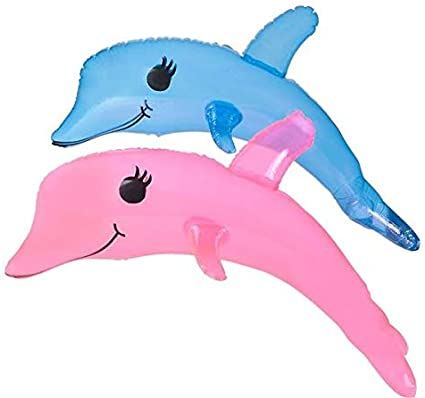 B004GBGFY4 Rhode Island Novelty Inflatable Dolphin Discontinued by Manufacturer One Piece