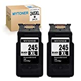 MYTONER PG245XL Remanufactured Canon 245 245XL PG-245XL PG-243 Ink Cartridge (2 Black) Compatible with Canon Pixma MX492 MX490 MG3022 iP2820 MG2420 MG2520 MG2522 MG2920 MG2922 MG3029 TS3120