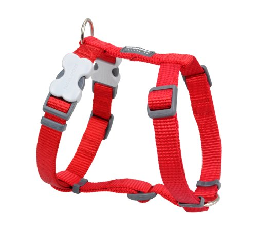 Red Dingo Dog Harness, Medium, Red