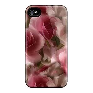 New LJy37911MqWw Roses Petals Skin Cases Covers Shatterproof Cases For Iphone 6