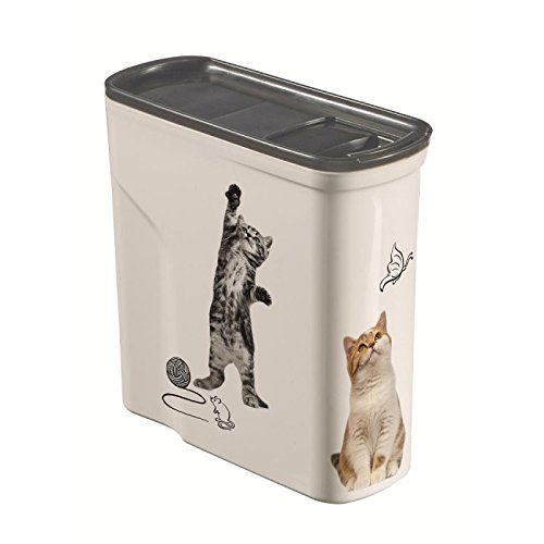 Curver Pet Dry Food Container Cat, 2 Litre