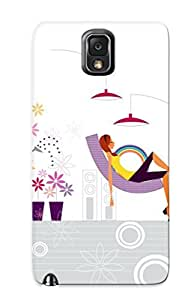 Crazinesswith Fashion Protective Model Loft Case Cover For Galaxy Note 3