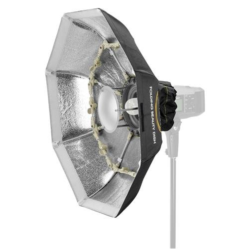 Glow Foldable Beauty Dish with Bowens Mount (Silver, 34'')
