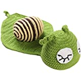 Newborn Baby Photography Props Crochet Knit Costume Baby Photo Props Costume Outfit - Snail