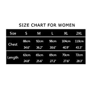 BLACKOO Women Fashion Summer T-Shirts Casual Crewneck Girl Tops Tee