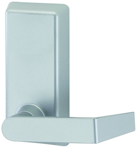 Von Duprin 230L-BE SP28 Lever Blank Escutcheon Trim with cylinder for 22 Series Exit Device, Schlage C Keyway, Sprayed Aluminum Finish (22 Exit Device Series)