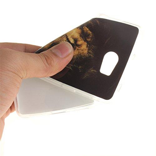 De Transparent 2 Souple Bord Antichoc Scratch De II En Silicone Motif Y5 Résistant Compact Hozor Fit TPU Cas tiger Y5 Peint Arrière Cas II Slim Y6 Protection Téléphone Couverture Huawei 7IfEqxg