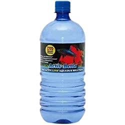 Worldwide Imports AWWA10961 Bio Activ Betta Water for Aquarium Décor 33.8 fl.oz. (Single Bottle)