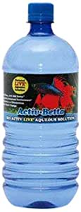 Worldwide Imports AWWA10961 Bio Activ Betta Water for Aquarium Decor 33.8 fl.oz (Single Bottle)