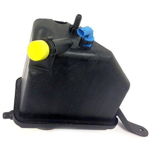 JSD AUTOPARTS T502 Coolant Reservoir Bottle Cell Expansion Tank + Sensor for BMW E60 E61 E63 17137542986