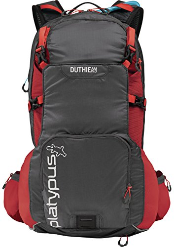 Platypus Duthie A.M. 15.0 Hydration Pack, Red Alloy