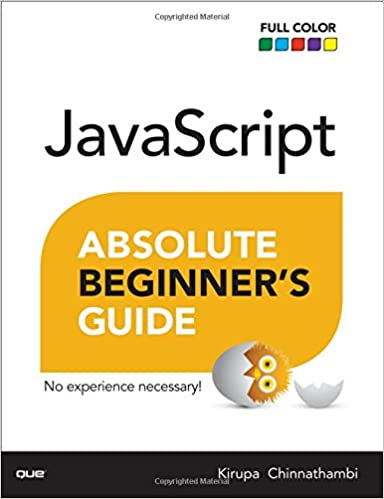 Book JavaScript Absolute Beginner's Guide (Absolute Beginner's Guides (Que))