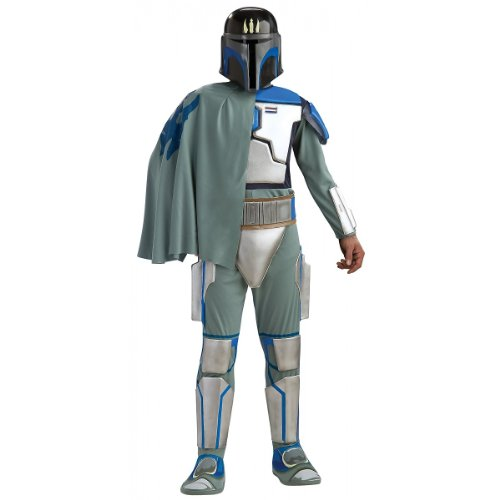 Star Wars Deluxe Pre Vizsla Costume, Black,