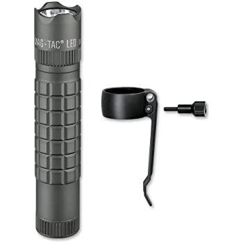 Maglite Mag Tac Led 2 Cell Cr123 Flashlight Crowned
