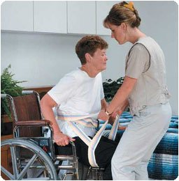 Patterson Medical Transfer Sling and Gait Belt - Size Medium/Large