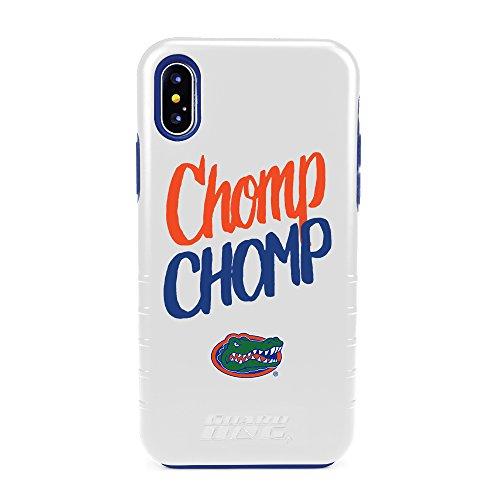 Guard Dog Florida Gators Chomp Chomp Hybrid Case for iPhone X/Xs - White]()