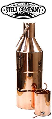 North Georgia Still Company 10 Gallon Copper Moonshine Still and Worm by North Georgia Still Company price tips cheap