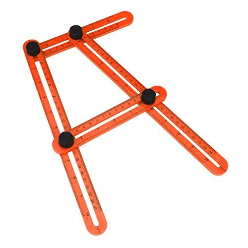 Tsmile Multifunctional Plastic Measuring Orange