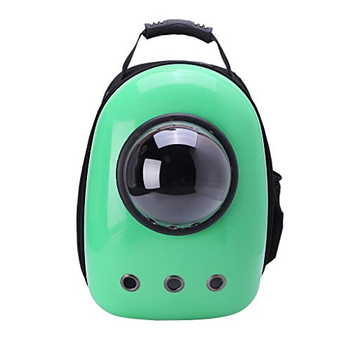 (Yearkala Astronaut Pet Cat Dog Puppy Carrier Travel Bag Space Capsule Backpack Breathable Outdoor)
