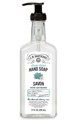 Amazon Com J R Watkins Liquid Hand Soap Agave Water 11 Ounces