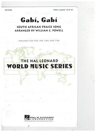Gabi Gabi South African Praise Song Choral Music SSAA a capella