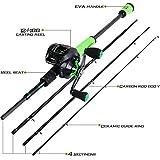 Sougayilang Ultralight Fishing Rod Reel Combos