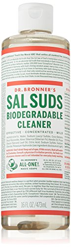 Dr. Bronner's Magic Soaps Fair Trade and Organic Sal Suds Liquid Cleaner, 16 Fluid Ounce