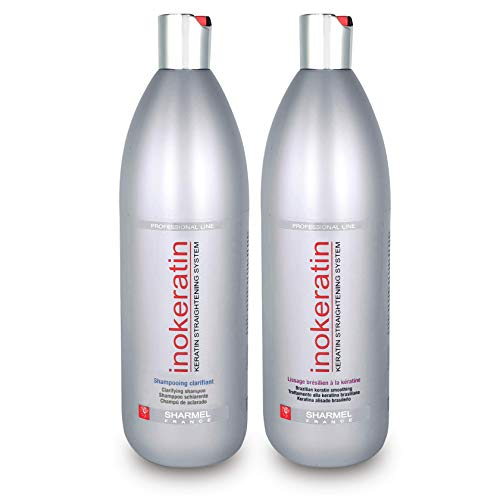 Kit Alisado Brasileño Inokeratin – 2 x 1000 ml – Keratina y Argán – sin Formol