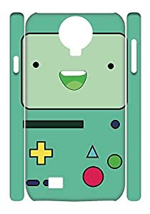 2015 popular Adventure Time Case for Samsung Galaxy S4 I9500,Beemo phone Case for Samsung Galaxy S4 I9500.