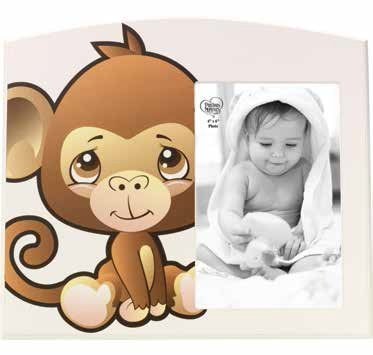 Precious Moments Precious Paws Monkey 4 X 6 Photo Frame 163448