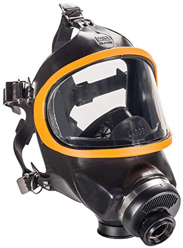 MSA Large Ultra-Twin Ultravue Series Full Mask Air Purifying Respirator -  MSA Mine Safety Appliances Co