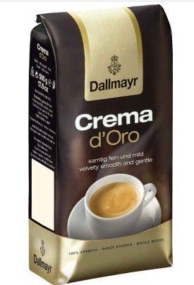 Dallmayr Crema D'oro Whole Beans Coffee 2 Packs X (Cream Espresso Beans)
