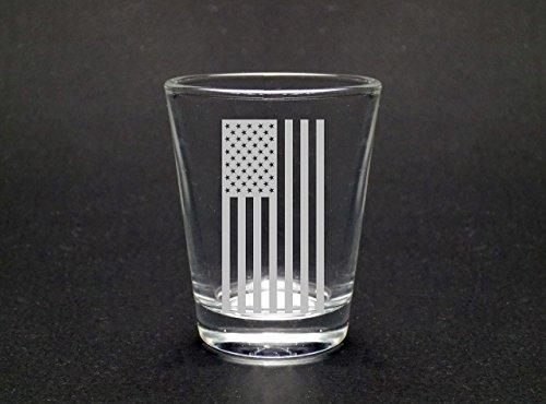American Flag Shot Glass by Mixing Spirits