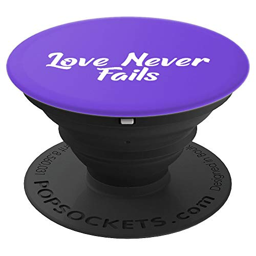 Love Never Fails JW 2019 - PopSockets Grip and Stand for Phones and Tablets ()