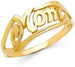 14k Yellow Gold Mothers
