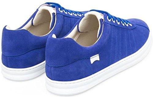 Camper Runner Vier Blauw Witte Suede Trainers Schoenen Voor Heren