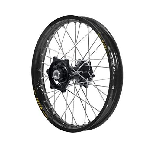 - Dubya Talon Black Hub with Excel Takasago Black Rim Painted Finish Front Wheel (1.40x17)