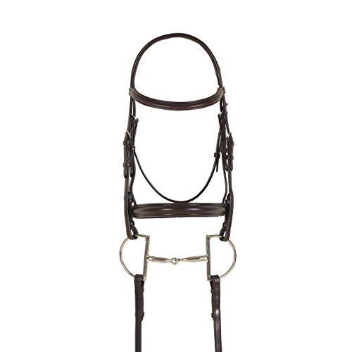 Raised Bridle Padded (Ovation Breed Plain Raised Padded Bridle Quarter H)