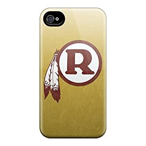 Anti-Scratch Hard Cell-phone Cases For iphone 5c With Provide Private Custom Attractive Washington Redskins Skin AlissaDubois