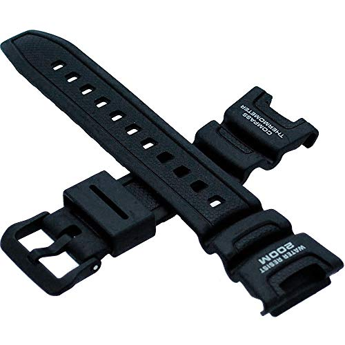 (Genuine Casio Replacement Watch Strap 10304195 for Casio Watch SGW-100-1VH)