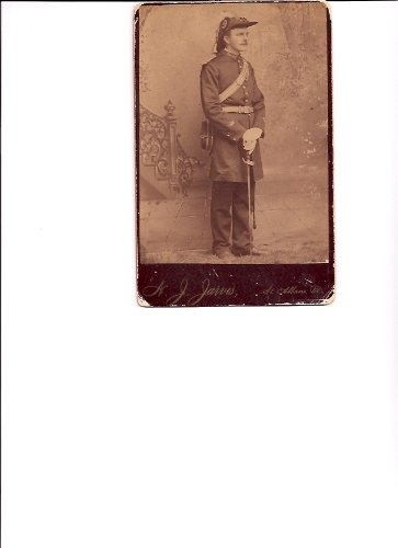 Full Length Cabinet Photograph of Soldier ()