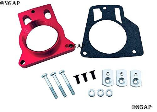 Red Billet Throttle Body Spacer For 00-07 Chevrolet Suburban 1500 2500 5.3L 5.7L 6.0L 8.1L V8