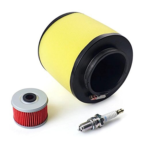 Paddsun FOR Air Filter, Oil Filter & Spark Plug Honda Fourtrax 300 2x4 & 4x4 TRX300 / FW